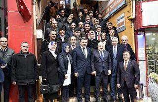 Bakan Varank AK Parti İl Başkanlığını ziyaret...