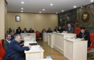 İl Genel Meclisi'nin Şubat Ayı Toplantıları...