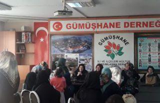 Gümüşhaneli kadınlar Sultanbeyli'de buluştu