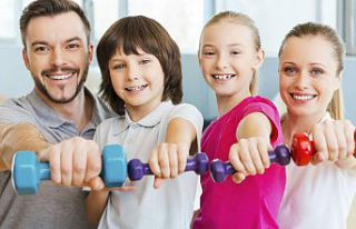 Aileler ev ortamında spor yaparak yarışacak