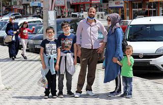 Gümüşhane sokakları 39 gün sonra çocuk sesleriyle...