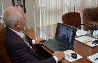 GTSO Başkanı Akçay Tarım Bakanı Pekdemirli ile...