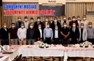 Gümüşhane MÜSİAD'ın ilk gündemi Süleymaniye...