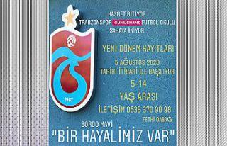 Trabzonspor Gümüşhane Futbol Okulu, Sahaya İniyor