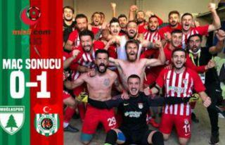 Kelkit, Muğla'da Altın Buldu:1-0