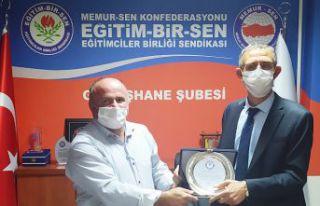 Eğitim-Bir-Sen'in yeni başkanı Habib Tanış...