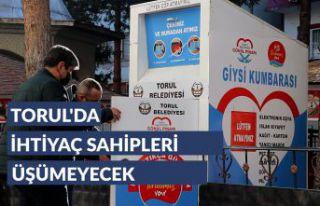 """Torul'da ihtiyaç sahipleri """"Gönül Pınarı""""..."""