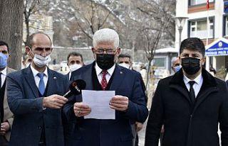 MHP Gümüşhane teşkilatından 'Katil polis'...