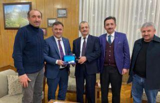 Başkan Çimen Eskişehir'deki Gümüşhanelileri...
