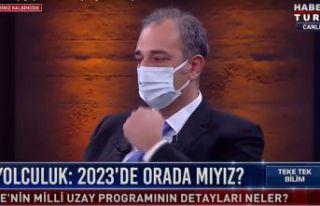 Türkiye'nin Milli Uzay Programını bir Gümüşhaneli...