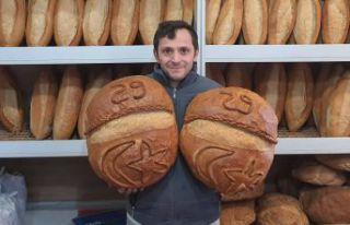 Ayın 29'una özel 29 liralık ekmek üretti