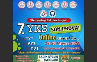 YKS son prova çevrimiçi yapılacak