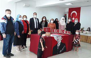 Torul'da el emeği göz nuru sergisi