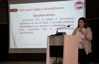 GÜ'de İSG bilgilendirme toplantısı yapıldı