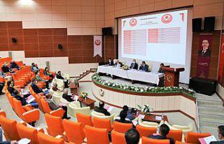 Senato toplantısı gerçekleştirildi