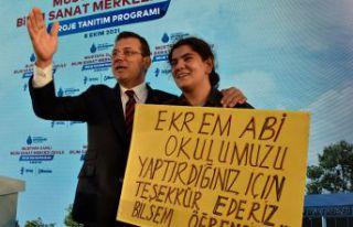 İBB Başkanı Ekrem İmamoğlu Gümüşhane'de