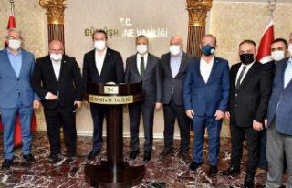 Memur-Sen Genel Başkanı Ali Yalçın Gümüşhane'de