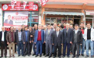 MHP heyeti Kürtün'de