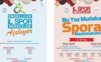 Gümüşhane'de 17 branşta yaz spor okulu açılacak
