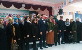 AK Parti Şiran ilçe kadın kolları 5. olağan kongresi yapıldı