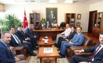 İstanbul GÜDEF'ten İstanbul Valisi Vasip Şahin'e tanışma ziyareti
