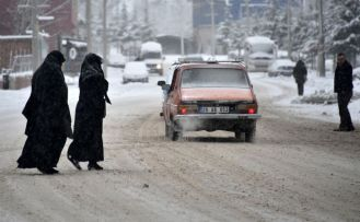 Gümüşhane'de yoğun yar yağışı 236 köy yolunu ulaşıma kapattı