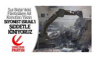Nas: Filistin'de işgal sürüyor