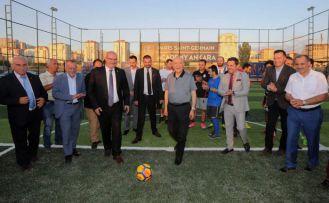 Santra Futbol Arena açıldı