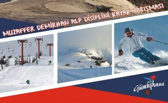 Kurtuluş için Zigana'da alp disiplini kayak yarışması düzenlenecek