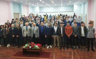 Erdener ve Erdoğmuş öğrencilerle buluştu