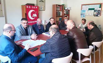 ÖĞ-DER'in 8.bölge toplantısı Gümüşhane'de yapıldı