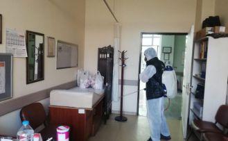 Torul'da dezenfekte çalışmaları yapıldı