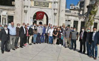GÜDAP'tan Eyüp Sultan camiinde Canlı için Mevlid-i şerif