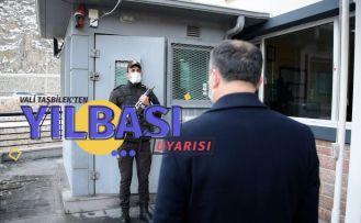 Vali Taşbilek'ten vatandaşlara yılbaşı uyarısı
