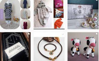 Gümüşhaneli girişimci ev kadınları sosyal medyada