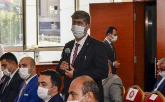 Başkan Özdemir'den 9 ay sonra yine aynı serzeniş