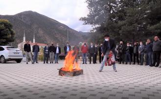 GÜ'de yangın söndürme tatbikatı gerçekleştirildi