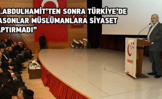 Gümüşhane'de 'Allah Dostu Erbakan' konferansı yapıldı
