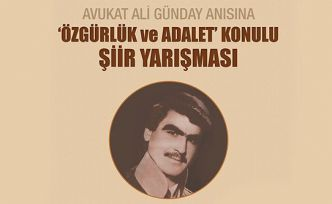 Ali Günday anısına ulusal şiir yarışması düzenleniyor