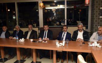 AK Parti Gümüşhane İl Yönetimi iftar programında basınla buluştu