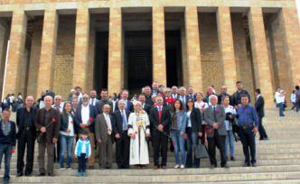 GİAD Yönetim Kurulu Anıtkabir'de
