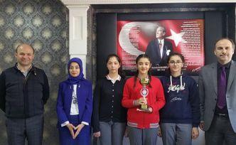 Gazipaşa ortaokulu Türkiye birincisi oldu