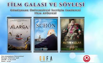 Alarga, Schön ve Altın Kızlar filmlerinin gösterim ve söyleşisi yapılacak