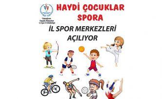 Gümüşhane'de 18 branşta yaz spor okulu açılıyor