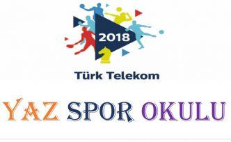 Telekomspor yaz spor okulu açılıyor