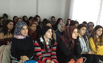 KYK öğrencilerine bağımlılıkla mücadele semineri verildi