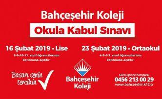 Bahçeşehir Koleji okula kabul sınavı