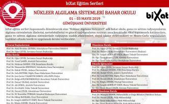 GÜ'de Nükleer Algılama Sistemleri Bahar Okulu düzenlenecek