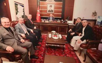 GÜDEF'ten Sakarya Valisi Ahmet Hamdi Nayır'a ziyaret