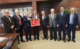 GÜSİAD'dan Aydın Doğan'a ziyaret